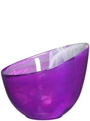 SEA Glasbruk, Candy skål, lila