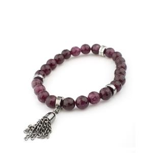 VÅGA smycken, armband Alegra burgundy