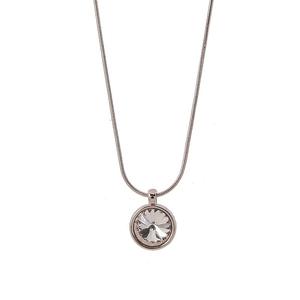 VÅGA smycken, halsband 42 cm rose/peach