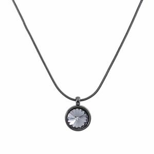 VÅGA smycken, halsband 42 cm gun