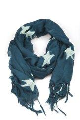 VÅGA scarf, stjärnor blå