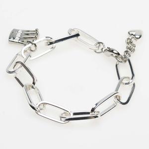 Pearls for Girls. Silverpläterat armband