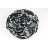 Qnuz scarf, zebra mönster