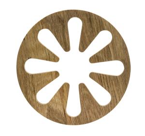 Sagaform Oval Oak grytunderlägg, 2 delar