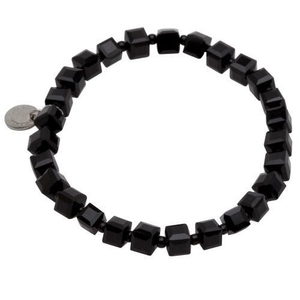 Pearls for Girls armband svart
