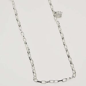 Pearls for Girls. Silverpläterad kedja, längd 100 cm.