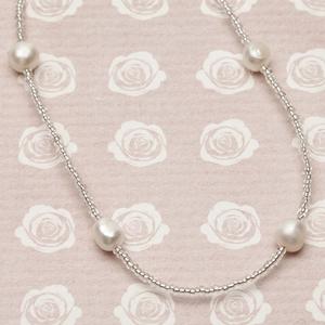Pearls for Girls. Halsband med pärlor, längd 45 cm