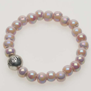 Pearls for Girls. Elastiskt armband med pärlor