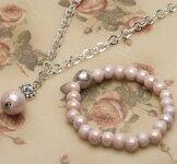 Pearls for Girls. Kampanj! Set med halsband och armband.