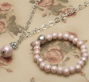 Pearls for Girls. Kampanj! Set med halsband och armband.
