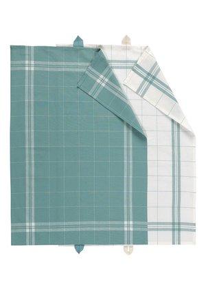 LINUM, Cook Handduk 2-pack, grön