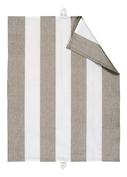 LINUM, Ravioli Handduk, beige